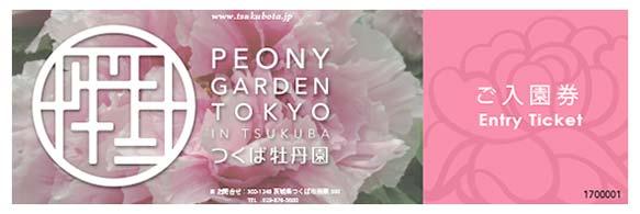 Buy Peony Garden Tokyo Ticket